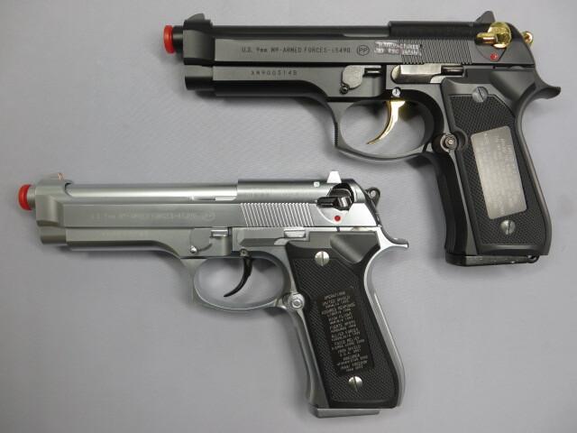 【KSC】U.S.9mmM9 アニバーサリー 米軍制式採用20周年記念モデル ブラック&シルバー 完全限定品