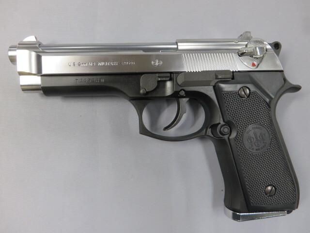 【東京マルイ】 M92F スライドシルバー/ベレッタガンケース・ホルスター