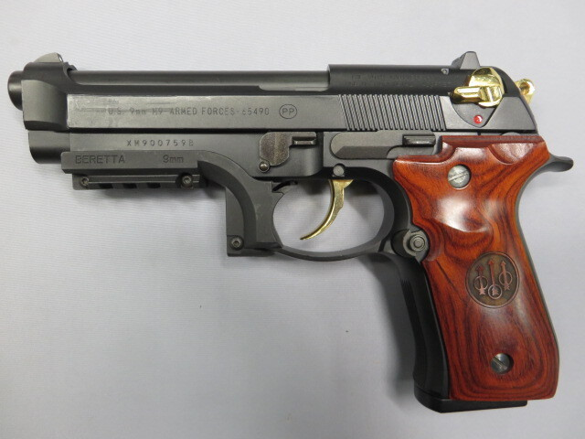 【KSC】U.S.9mmM9 アニバーサリー 米軍制式採用20周年記念モデル ブラック
