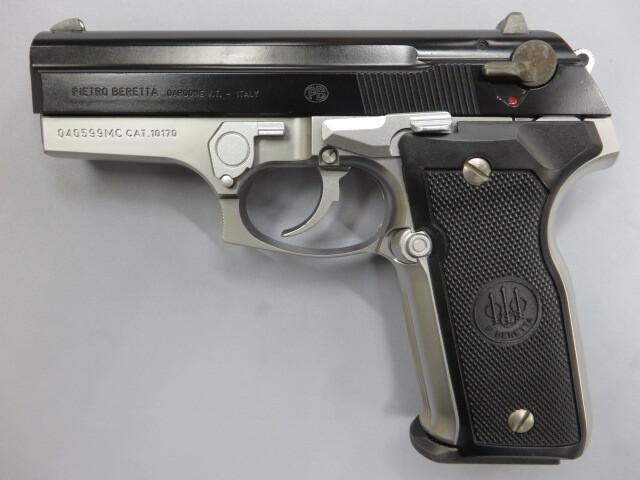 【ウエスタンアームズ】ベレッタM8045 フレームシルバー