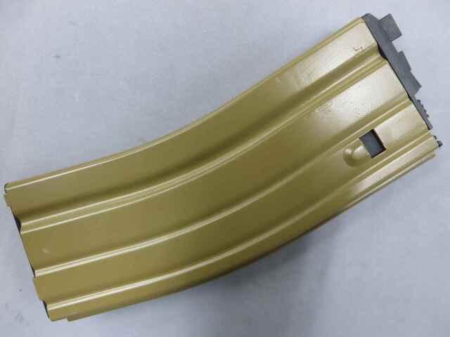 【WE】M4・SCAR TAN オープンチャンバー対応 ガス・マガジン