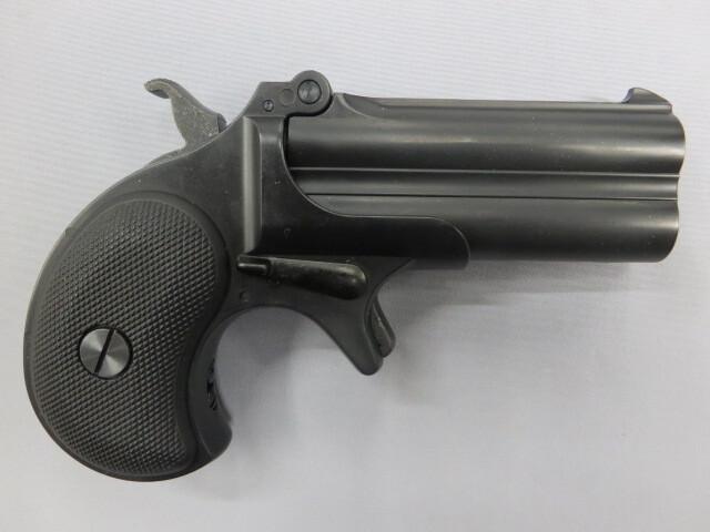 【マルシン】デリンジャー ブラック ABS 6mmBB Xカートリッジ