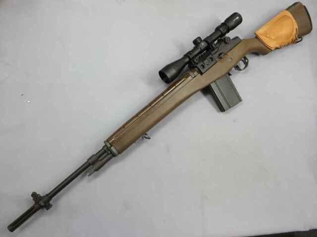 【WE】M14 フェイクウッド 刻印有