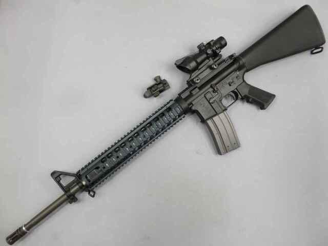 【ウエスタンアームズ】M16 米海兵隊モデル フルメタルカスタム
