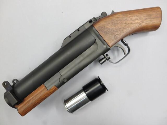 【CAW】U.S.M79 グレネードランチャー ソウドオフ 木製ストック + モスカート