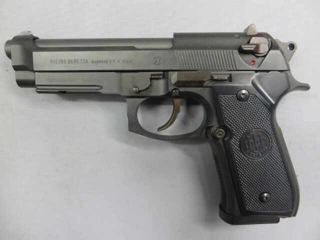 【ウエスタンアームズ】ベレッタ M9A1 カーボンブラック