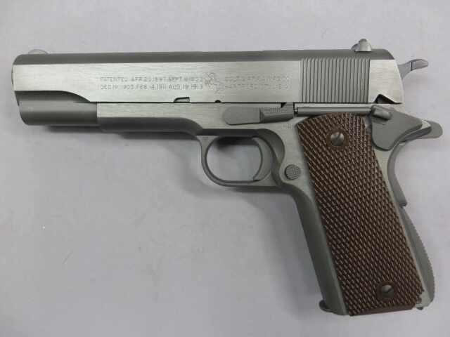 【ウエスタンアームズ】コルト ガバメント M1911A1ミリタリーモデル(ソリッドフィニッシュ)
