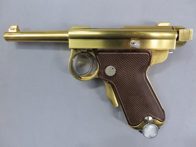 南部式自動小型拳銃 東京ガス電刻印 桐箱付き ダミーカートリッジ仕様
