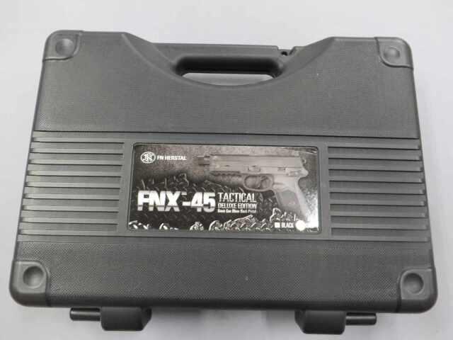 【CyberGun】FNX-45 タクティカル TAN DX / ダットサイト メタルスライド