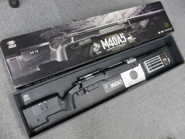 【東京マルイ】M40A5 ブラック ストック