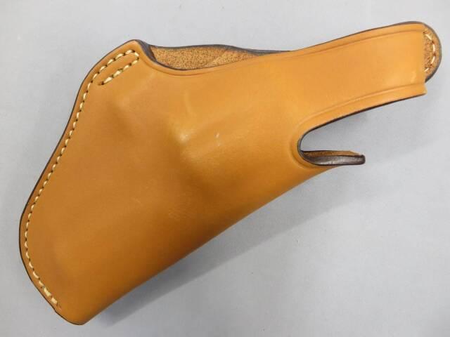 【イーストA】シルエットヒップホルスター K-L ブラウン 革製ホルスター No.231