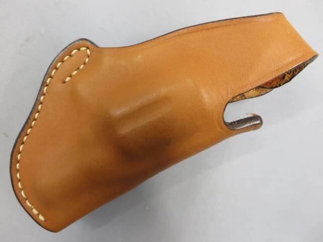 【イーストA】シルエット ホルスター デテクティブ ブラウン 革製ホルスター No.230D