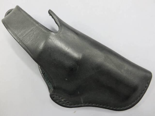 【イーストA】シルエットヒップホルスター K-L ブラック 革製ホルスター No.231