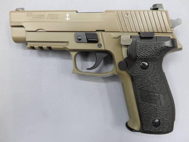 【タナカ】SIG P226 Mk25 DESERT EVO2 frame HW モデルガン