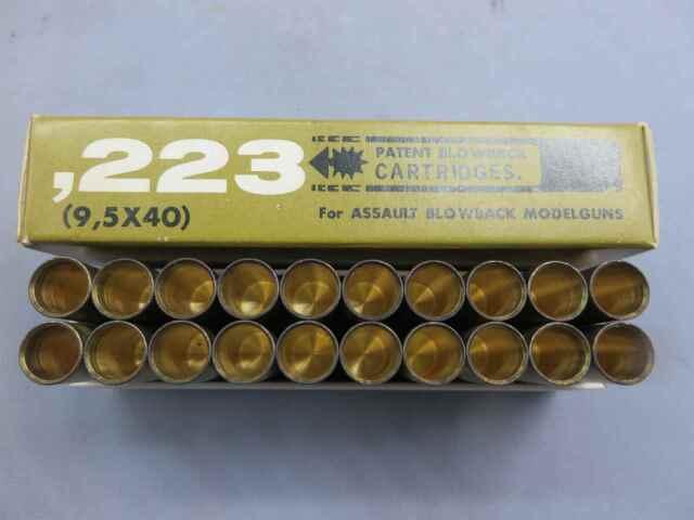 【MGC】.223(9.5×40)PATENTブローバック カート20発 | アサルトライフル
