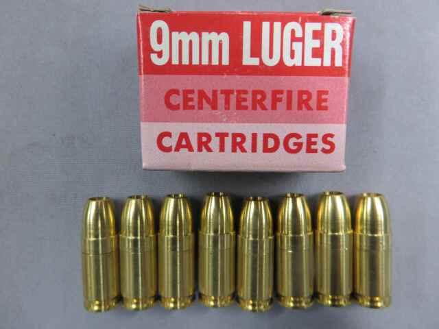 【KSC】9mmLUGER センターファイア カートリッジ 8発
