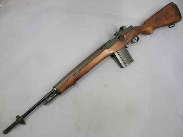 【ホビーフィックス】U.S.ライフル M14 ミリタリー モデルガン