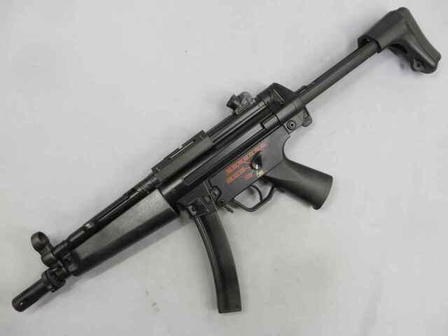 【東京マルイ】H&K MP5-J 特殊銃器装備部隊仕様9mm口径 高性能機関けん銃