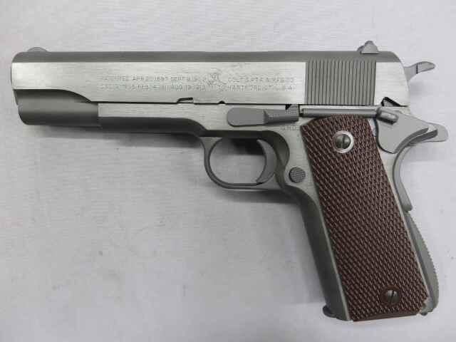 【ウエスタンアームズ】コルト ガバメント M1911A1ミリタリーモデル (ソリッドフィニッシュ)