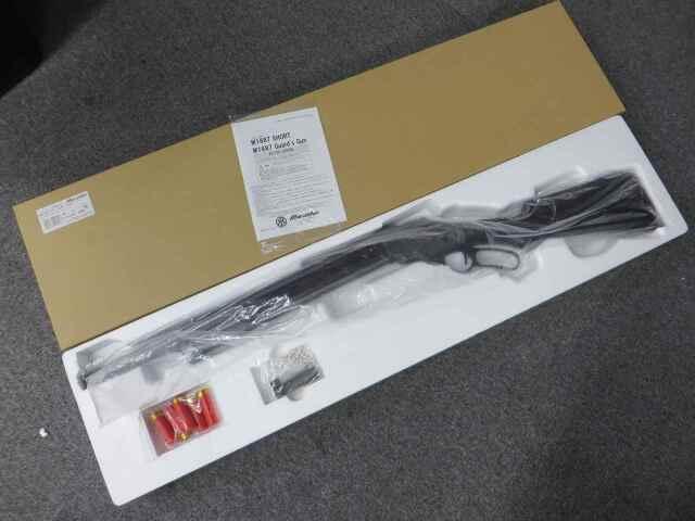 【マルシン】M1887 ガーズガン 木製ストック付 エクセレントHW
