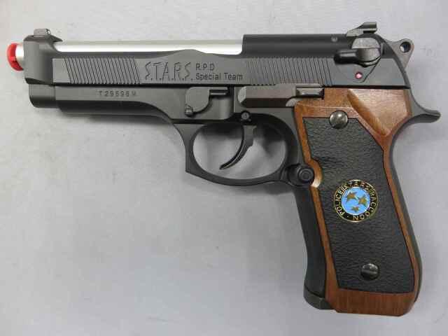 【東京マルイ】サムライエッジ M92F/S.T.A.R.S.カスタム ジルバレンタイン モデル バイオハザード