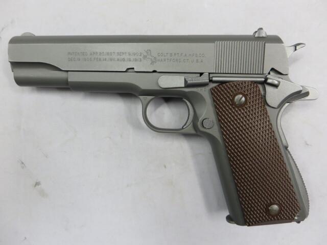 【ウエスタンアームズ】SCW コルト U.S.M1911A1 ミリタリーモデル