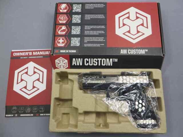 【ARMORERWORKS】VX0100 WE G17 カスタムHex-Cut メタルスライド