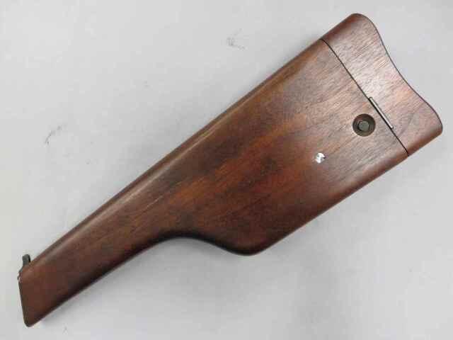 【マルシン】モーゼルM712 最高級ウォールナット木製ストック ホルスター