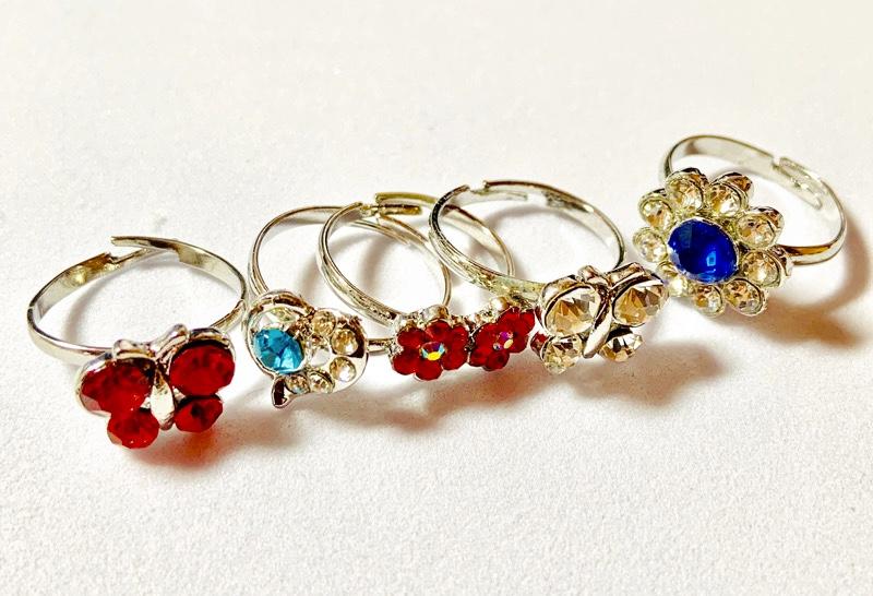 豪華な 指輪コレクション(50個)