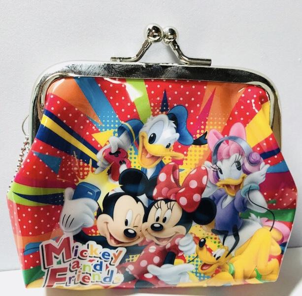 ディズニーオールスターガマ口財布