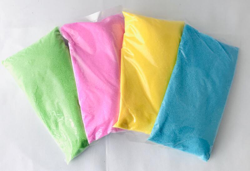 らくがきせんべい用(おえかきせんべい)色砂糖400g【4色セット】
