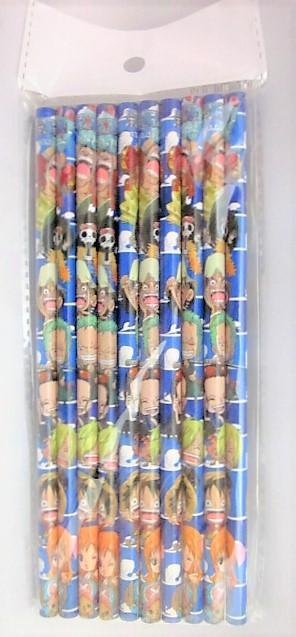 ワンピース10色色鉛筆セット(ばら売り2個〜)