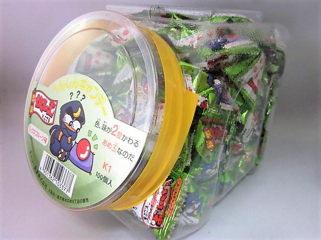 へんしんキャンデー ポット入り(100個入)