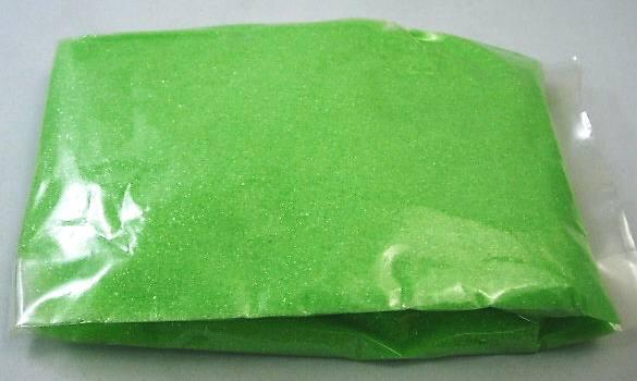 らくがきせんべい用(おえかきせんべい)色砂糖400g グリーン