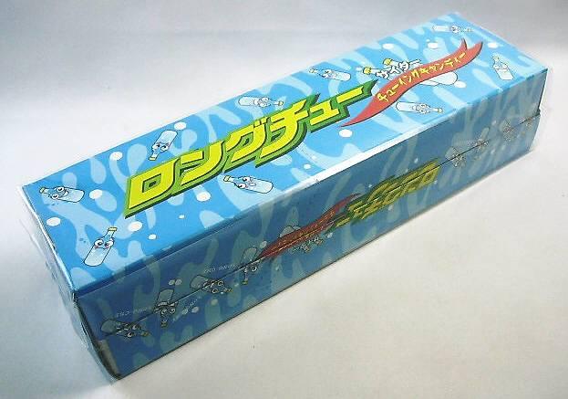 ロングチュー サイダー味(36本入り)【業務用 キャンディ 飴 駄菓子】