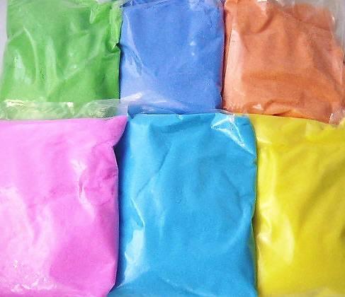 お祭り バザーで大人気! らくがきせんべい用(おえかきせんべい)色砂糖400g6色セット