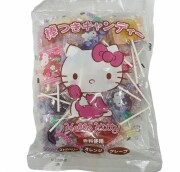 ハローキティ棒つきキャンディー 310g(約45本入)