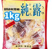純露 飴 (UHA味覚糖) 1kg入り