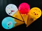 光る アイスクリームライト (
