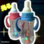 光る 哺乳瓶風ボトル(持ち手付) ばら売り