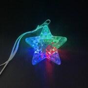 光る 星のペンダント