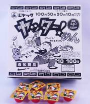 ヤッターめん(100個+当り保証分44個入り)金券当たり菓子
