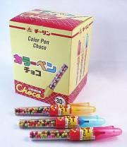 カラーペンチョコ(30本入り)
