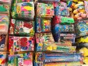 【送料無料キャンペーン】景品・おもちゃ1万円分セット(100円115個以上入り)