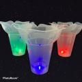 【SALE】光るきらきらフラワーカップ (単品/10個)