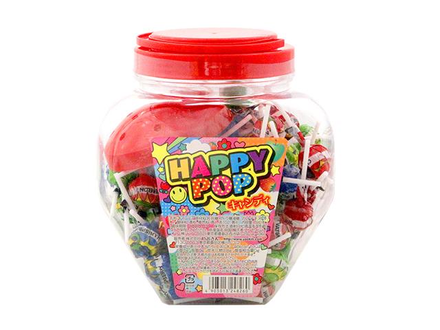 10円 ハッピーポップキャンディー 100本入