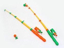 おもちゃの釣り竿おもちゃの釣り竿 子ども用のおもちゃの釣り竿