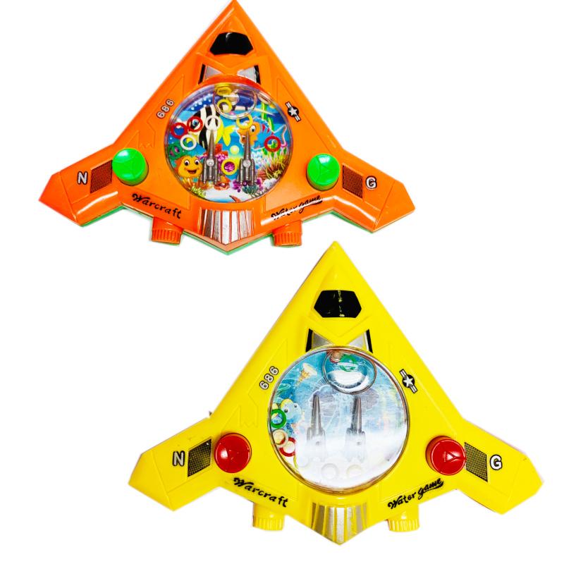ロケットに似たウォーターゲームです。形は変化してもウォーターゲームは相変わらず人気です