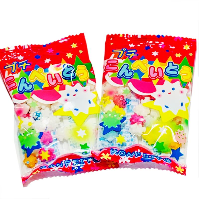 甘いものが欲しい時などに小袋になっているので便利です。高齢者や小さなお子様にもお口の中でとけるので安心して食べていただけます