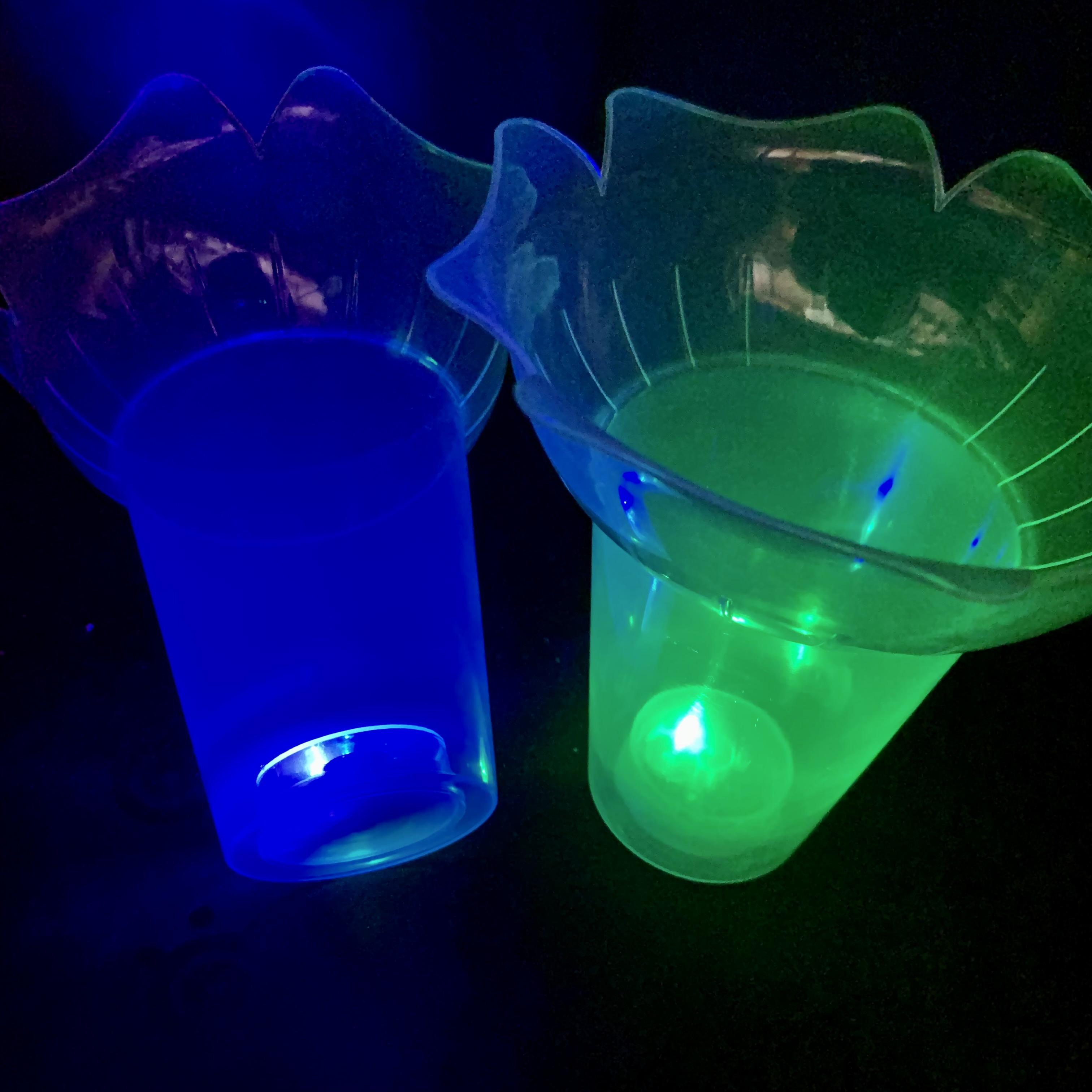 光る//きらきらフラワーカップ 5個セット